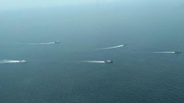 Indonesia-Malaysia Gelar Patroli di Selat Malaka