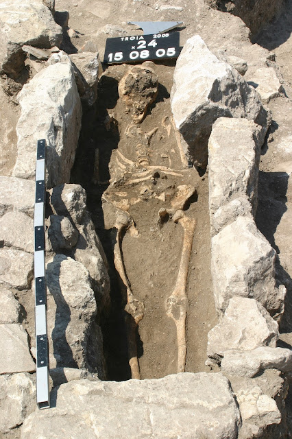 Byzantine skeleton yields 800-year-old genomes from a fatal infection