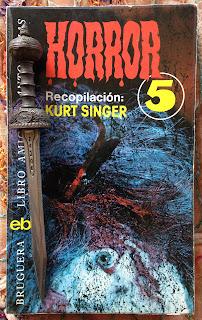Portada del libro Horror 5, de varios autores