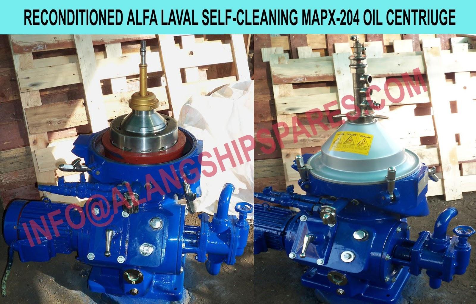 OIL PURIFIER ALFA-LAVAL MOPX 209. OIL PURIFIER ALFA-LAVAL MOPX 210. OIL  PURIFIER ALFA-LAVAL MOPX 309. OIL PURIFIER ALFA-LAVAL MOPX 310