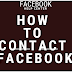 Contact Facebook | How to Contact Facebook to Report Abuse