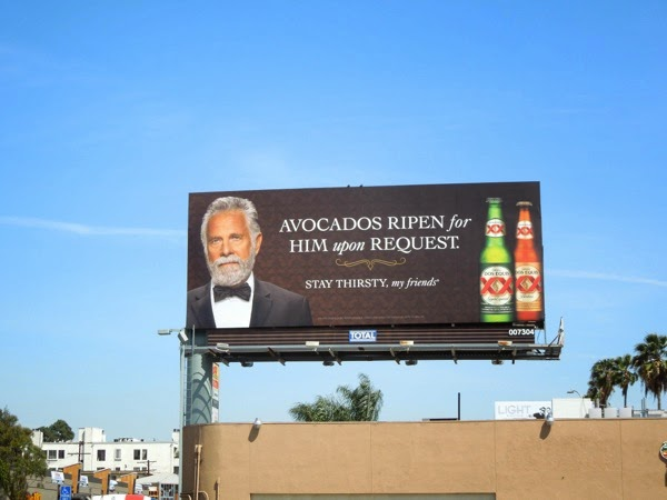 Dos Equis Avocados billboard