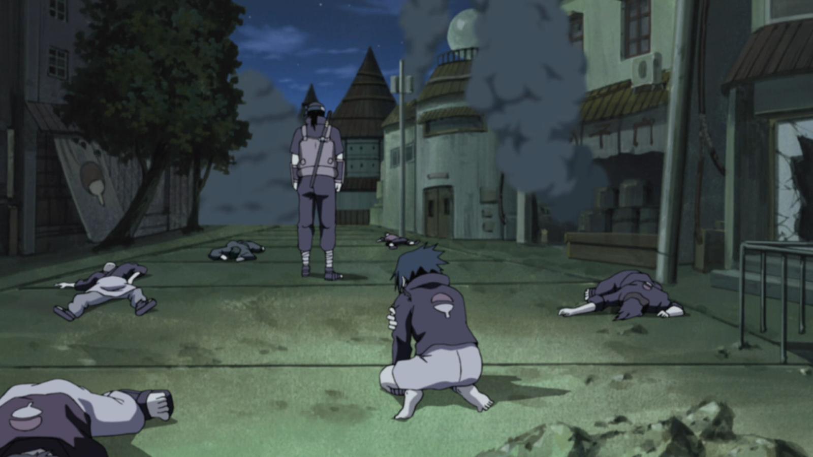 Gambar pembantaian uchiha