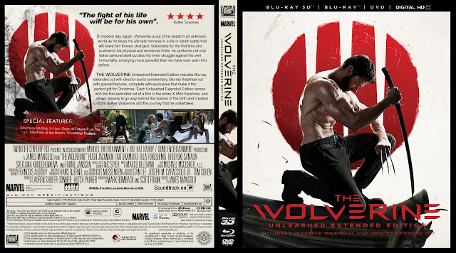 Capa Bluray The Wolverine Unleashed Extended Edition