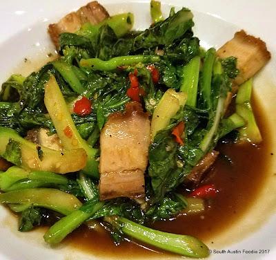 Krua Urban Thai pork belly pak ka nar