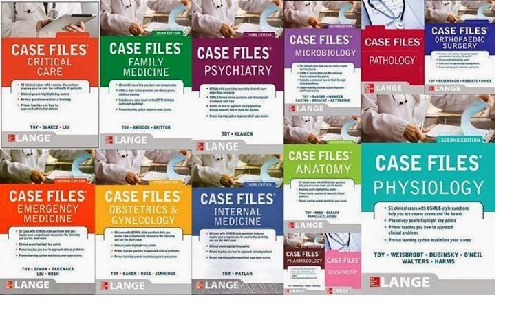 سلسلة كتب Case Files Series - Medic4arab com