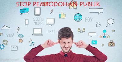 Buat Info - Social Media dan Pembodohan Publik