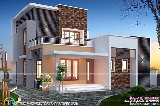 3 bedroom flat roof 1516 sq-ft home