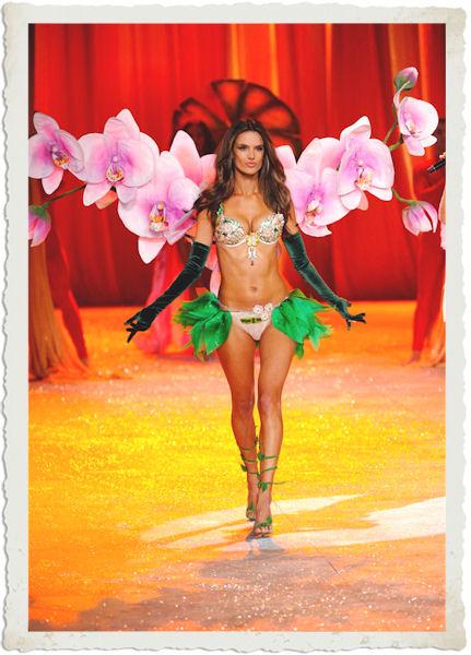 Alessandra Ambrosio indossa il bra da 2,5 milioni di dollari al Victoria's Secret Fashion Show