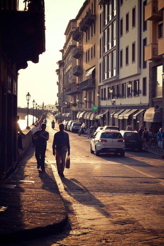 Afternoon in Florence, Italy