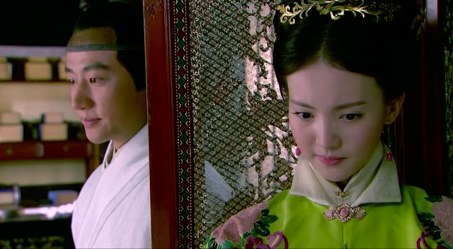 Huang Xuan and Gina Jin in popular 2016 cdrama Imperial Doctress