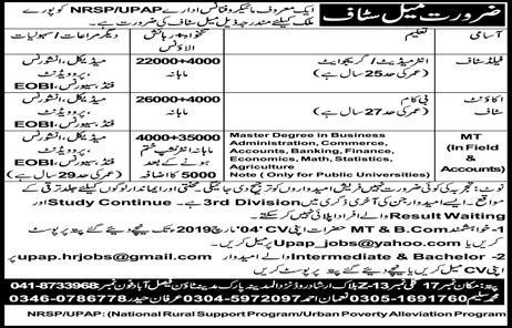 NRSP Microfinance Bank Limited Jobs 2019  Vacancies 750  Overall Pakistan can Apply