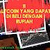 11 Altcoin yang Dapat di Beli dengan Rupiah