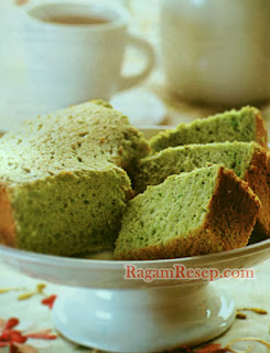 Resep Kue Cake Green Tea Bidadari