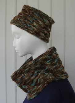 My Around the Bend Hat   Cowl Set is now available for purchase in my  Ravelry pattern store. The hat is a pillbox style with a flat top which is  my favorite ... 0d056897f37