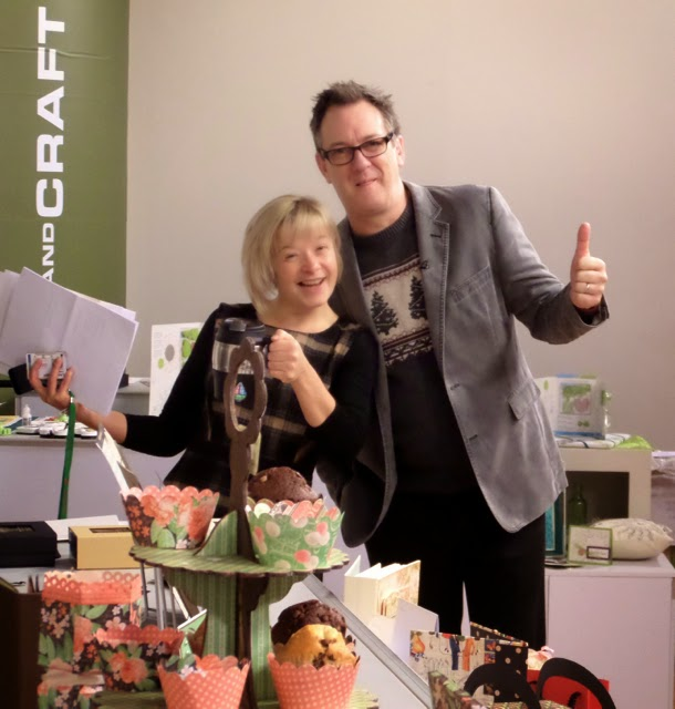 Martin and Leonie at Create and Craft TV