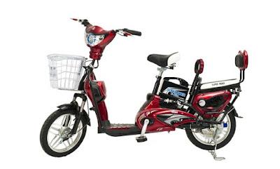 Sepeda Listrik Eart Warna Merah