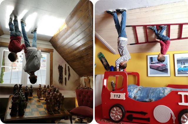 homeschooler e casa capovolta