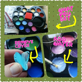 ava and frank face paint palette kit collage 2
