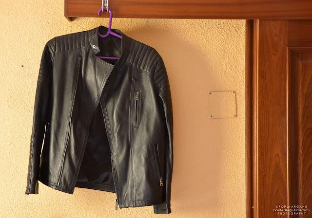 Skórzana kurtka męska prosto z souku - 11 pomysłów na marokański prezent na Mikołaja lub pod choinkę