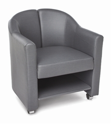 Gray Lounge Chair