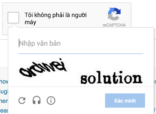The No CAPTCHA problem