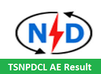 TSNPDCL AE Result