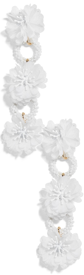 BAUBLEBAR Vernita Flower Drop Earrings
