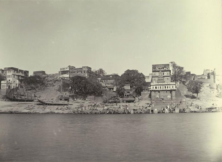 Gai Ghat - Benares (Varanasi) 1905
