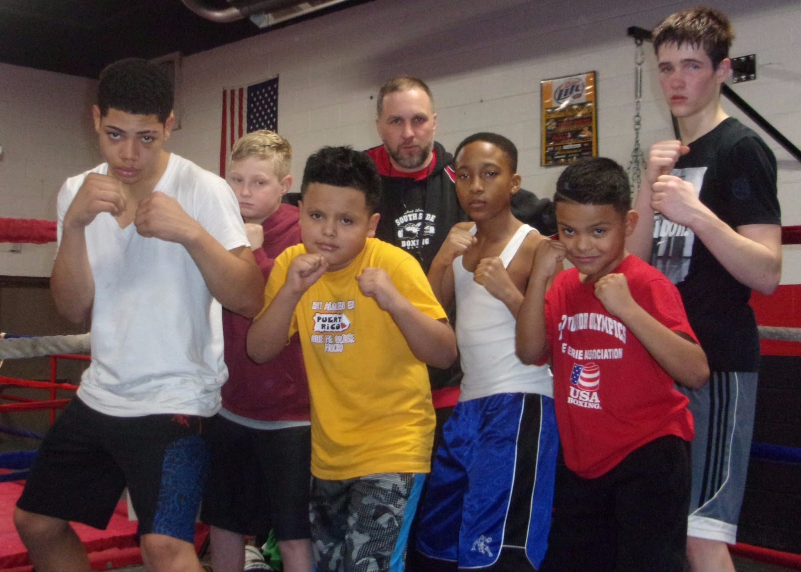 Youngstown Boxing News: Southside Boxing Club Youth Boxers