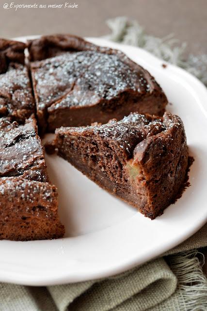 Experimente aus meiner Küche: Leichte Schoko-Apfel-Brownies
