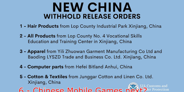 US against Chinese goods and how would it affect the Chinese Mobile Games
