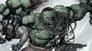 Wolverine versus Hulk