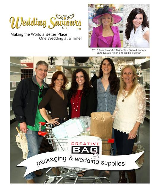 Wedding Saviour's Toronto and GTA 2013 Wedding Contest Winners at Creative Bag