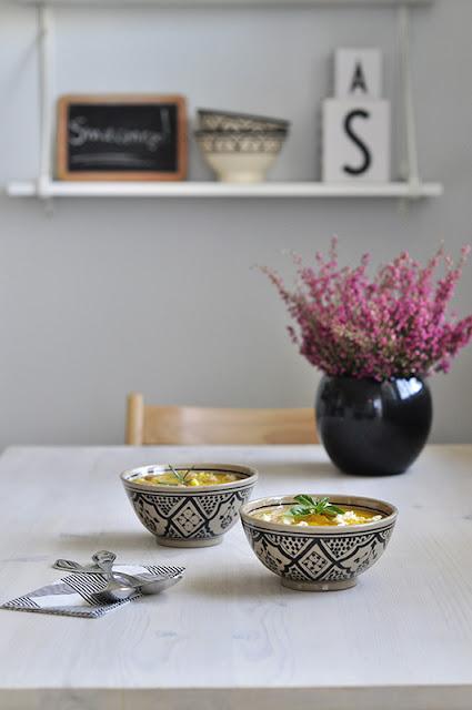 krem z dyni miski marokańskie
