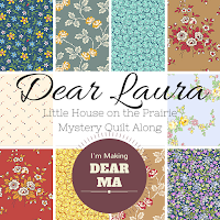Dear Laura Little House on the Prairie Mystery Quilt Along