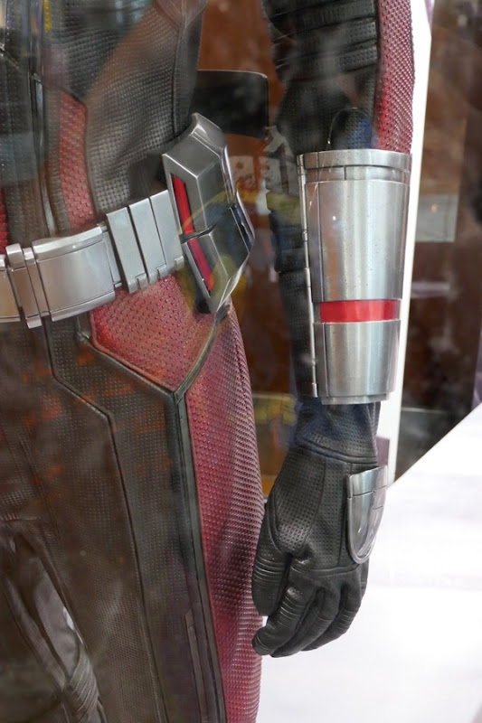 Ant-Man costume gauntlet