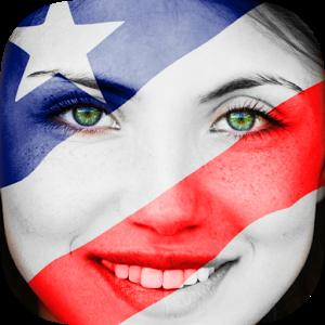 ႏုိင္ငံတစ္ကာအလံတံဆိပ္ေတြနဲ႕ Profile ေတြကုိအလြယ္တစ္ကူ ျပဳလုပ္ႏုိင္မယ္႔ FlagFace paint your Face_v2.0.12 Apk