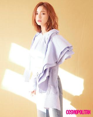 Shin Se Kyung Cosmopolitan July 2017
