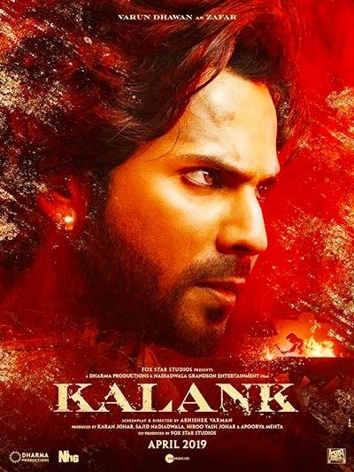 Kalank 2019 Hindi PreDVDRip 400MB 700MB