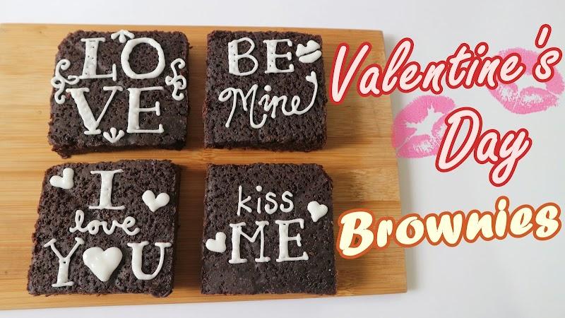 Valentine's Day Brownies 情人節布朗尼蛋糕