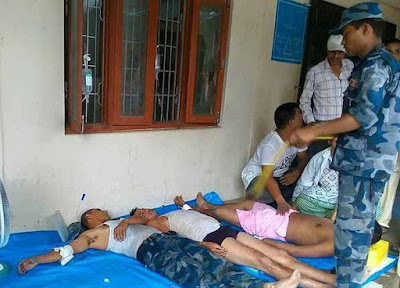 police injured in tikapur incident