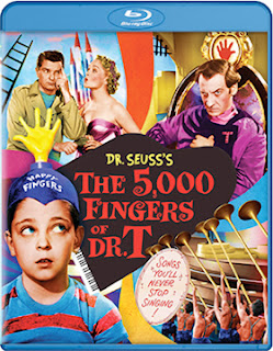 DVD & Blu-ray Release Report, The 5,000 Fingers of Dr. T, Ralph Tribbey