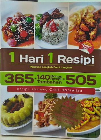 1 Hari 1 Resepi | Resepi Istimewa Daripada Chef Hanieliza