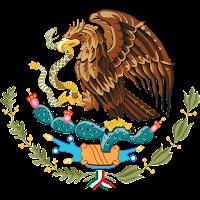 Logo Gambar Lambang Simbol Negara Meksiko Serikat PNG JPG ukuran 200 px