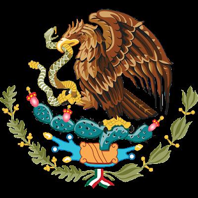 Coat of arms - Flags - Emblem - Logo Gambar Lambang, Simbol, Bendera Negara Meksiko Serikat