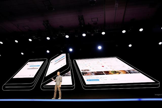 Samsung vs Huawei: Ponsel Layar Lipat dan Ponsel Layar Bolong