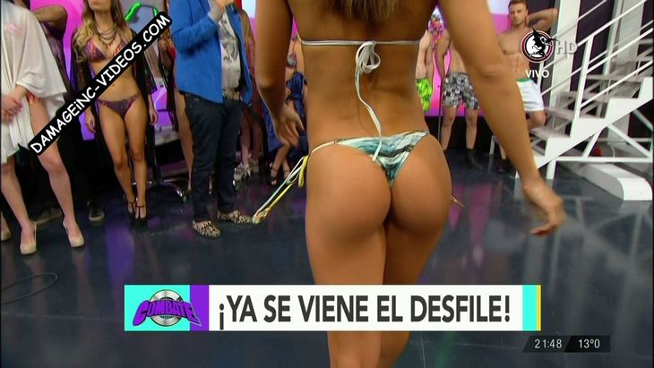 Brenda Gomez hot ass in thong in Combate Damageinc Videos HD
