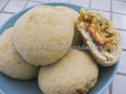 stuffed, herbed hops bread