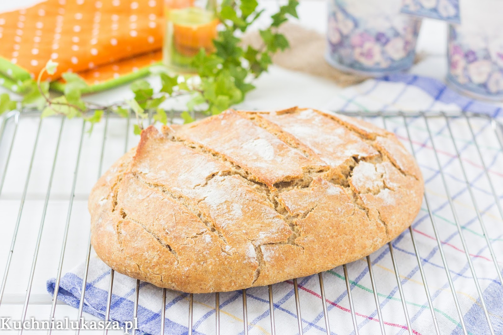 Idealny chleb bez zagniatania